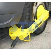 Buy cheap Wheel clamp Auto-alarming wheel clamp from wholesalers