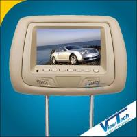 Buy cheap Headrest monitors supplier for new 7 inch car headrest monitor with card reader(VT-H706) product