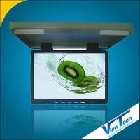 Flip down monitors - 15 inch wide screen flip down monitor with dual dome lights/IR(VT-R1540)