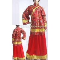 Traditional Chinese Woman Wedding Gown