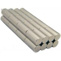 Buy cheap Sintered NdFeB Magnets(cylinder),Sintered Neodymium magnet product