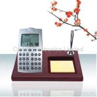Buy cheap World Time Calendar Calculator with Wooden Base product