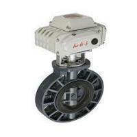 Buy cheap Electric operated plastic butterfly valve product