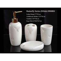 Butterfly Series(White) Bathroom Set