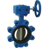 Buy cheap Gear Operated Lugged Type Butterfly Valve product