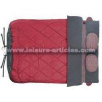 China Double Envelop Sleeping Bag W/Pillows wholesale