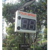 Buy cheap Solar Radar Speed Display Sign product