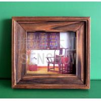 Buy cheap Wooden Handicraft Wooden photo frame (carbonization) product