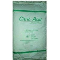 food additives [Citric A]