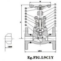 Buy cheap Flanged End Globe Valve 900Lb~1500Lb product
