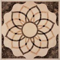 """Buy cheap Water-Jet (Mosaic) Code: WJ020Size(s): 48"""" 48"""" 1/2"""" (1220 1220 12mm)Materials: Crema Marfil; Emperador Light; Nero Marquina; Rosso Perlino; Thassos White product"""