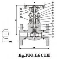 Buy cheap Flanged End Globe Valve 150Lb~600Lb Steel product