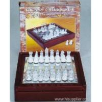 Sports&Games Glass Chess Set
