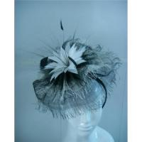China Sinamay fascinator with comb wholesale