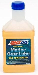 Quality AMSOIL Universal Synthetic Marine Gear Lube SAE 75W/80W-90 for sale
