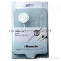 Buy cheap Headphone Remote Control for iPod 3G GF-RC01 from wholesalers