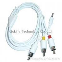 Buy cheap AV Cable for iPod Video and Photo GF-DC-AV from wholesalers
