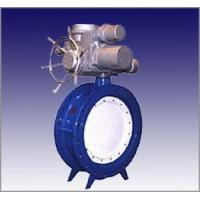 Electric valve Electric soft seal butterfly valve flange