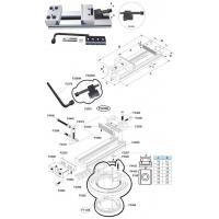 Buy cheap PRECISION MODULAR VISE STANDARD SERIES ART.1N from wholesalers