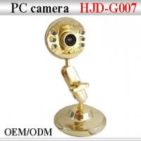 Buy cheap HJD-007 Gold webcam from wholesalers