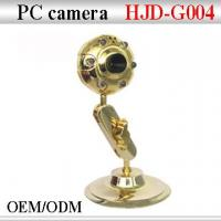 Buy cheap HJD-004 Gold webcam from wholesalers