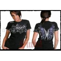 Buy cheap Sinful Baby Tees Butterfly BLK Shirts from wholesalers