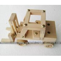 Pull & Push Wooden Lift Car