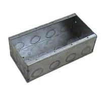 Buy cheap Steel Boxes and Covers Four Gang Steel Box product