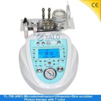 Buy cheap Super Diamond Microdermabrasion Series YL-706 (4in1) Microdermabrasion with LCD product