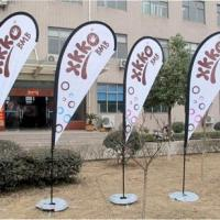 China Custom flags Custom Design Teardrop Flag/Outdoor Flag/Flying Flag cheap on sale