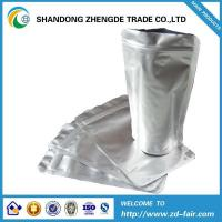 Flat bottom zipper bag Aluminum foil stand up zipper packaging bag