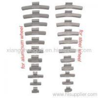 Buy cheap wheel parts clip on steel wheel weight product