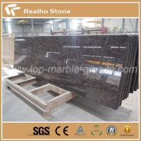 China Competitive Price and Best Quality Tan Brown Granite Kitchen Countertops with Laminated Edge on sale