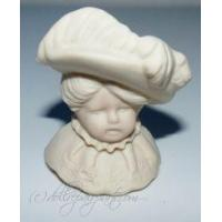 "Buy cheap Porcelain Doll Head 2.5"" Hat product"