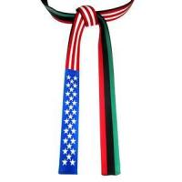USA and Pan-African Flag Belt[F4]