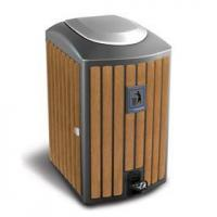 Buy cheap Arlau BW09 outdoor public synt Name:Arlau BW09 outdoor public synthetic wood recycle bin product