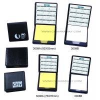 China PU cover boxed sticky notes set Sticky nots & Memo Pad.3009A 3009B 3008A 3008B on sale