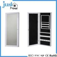 Buy cheap Wall Mounted Jewelry Armoire Wall Hanging Jewelry Cabinet from wholesalers