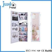 Buy cheap Wall Mounted Jewelry Armoire Wall Mirror Jewelry Cabinet from wholesalers