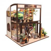 China Vibrant Inspiration Miniature Dollhouse Furniture New DIY Doll House Wooden Houses on sale