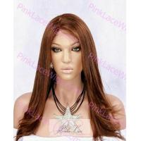 Buy cheap Full Lace Wigs 4/30 Regular Yaki Glue-Less Full Lace Wig 16 inches from wholesalers