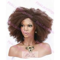 Buy cheap Full Lace Wigs #2 Afro Glue-Less Full Lace Wig 16 inches from wholesalers