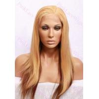 Buy cheap Julia #30/27 Silky Straight Full Lace Wig in 18 inches from wholesalers