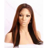 Buy cheap Kayla T-#1B/30 Yaki Full Lace wig in 16 inches from wholesalers