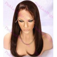 Buy cheap Madison #2 Darkest Brown Silky Straight Full Lace Wig in Lengths 14-20 inches from wholesalers