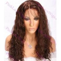 Buy cheap Lillian #2 Darkest Brown Spanish Wave 4.0 Full Lace Wig in Lengths 14-20 inches from wholesalers