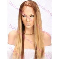 Buy cheap Hailey 18 Inches T-4/27 Platinum Blonde Silky Straight Full Lace Wig from wholesalers