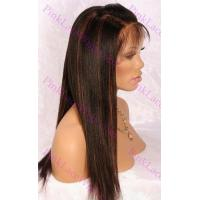 Buy cheap Layla Regular Yaki 1-B with #30 Highlights Full Lace Wig from wholesalers