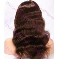 Buy cheap Alexis #4 Medium Reddish Brown Body Wave Full Lace Wig in lengths 14-20 from wholesalers
