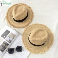 Buy cheap Best Selling High Quality Raffia Straw Panama Hats For Women product
